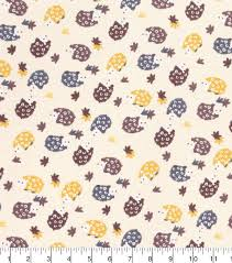 hedgehog wrapping paper hedgehog printed cotton flannel fabric 42 joann