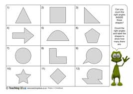 right angles teaching ideas