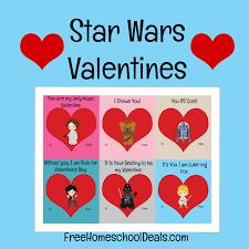 free printable star wars valentines instant download free