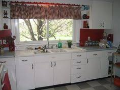1950s Metal Kitchen Cabinets Kitchen 1950 U0027s Metal Cabinets Refinished Youngstown Cabinet