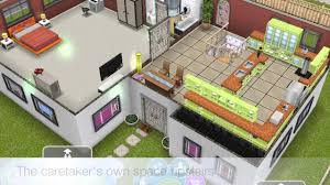 sims freeplay my daycare and cabin loft inspired house youtube