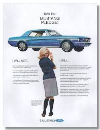 ford mustang ad 1966 mustang ad mustangforums com