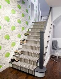 Stairs Rugs Decorate Your Stairway With A Striped Carpet Stair Rugs