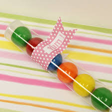gumball party favors gumball set of 24 clear plastic party favor