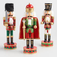 traditional nutcrackers set of 3 world market