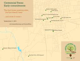 Saratoga State Park Map Centennial Trees 2015 2020 U2013 Sustainable Saratoga