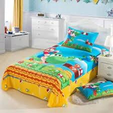 Mario Bros Bed Set Mario Bros Duvet Cover Sets Bedding Flat Sheet Pillow