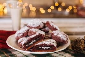 oreo stuffed red velvet cookies the edgy veg