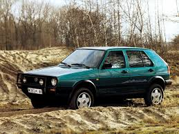 volkswagen golf 1989 a look at the volkswagen golf country ran when parked