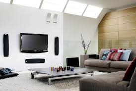 Integrate Home Theater Into Your Living Room  What Furniture To - Living room with home theater design