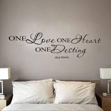 bob marley home decor aliexpress com buy english one love wall decoration stickers