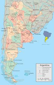 Map Of The Western Hemisphere Map Of Argentina Buenos Aires