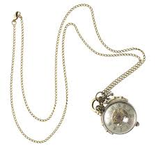 necklace watch images Vintage style ball watch necklace by madison honey vintage jpg