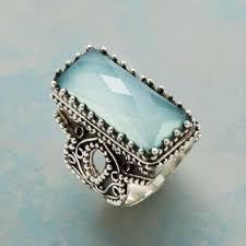 sterling gem rings images Unique gemstone rings robert redford 39 s sundance catalog tif&a