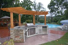 Outdoor Kitchens Pictures by Pergola Design Ideas Outdoor Kitchen With Pergola Most Inspiring