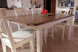 Ikea Dining Table And Chairs by Hack A Country Kitchen Style Dining Table Ikea Hackers Ikea