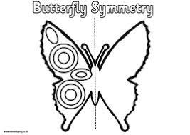 spring symmetry worksheets eggs butterfly flowers by felt