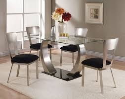Best Rectangular Glass Top Dining Room Tables Pictures Home - Brilliant small glass top dining table house