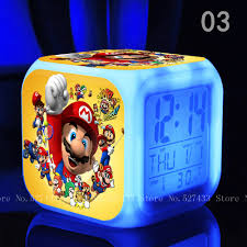 Super Colorful Aliexpress Com Buy Super Mario Bros Digital Toys Action Figures