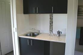 kitchen charming kitchenette design ideas with simple cabinet made