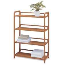 Bamboo Shelves Bathroom Buy Bamboo Bathroom Shelves From Bed Bath Beyond