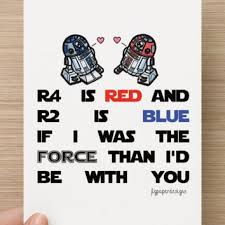 wars valentines day buy 1 get 1 free wars valentines from jlg paper designs