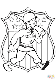 world war 2 american soldier coloring page free printable