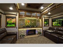 5th wheel with living room in front luxury fifth wheel rv front living room nakicphotography