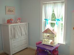 Childrens Nursery Curtains by Baby Nursery Decorative Window Curtains For Room Decors White