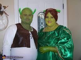 shrek u0026 fiona couple halloween costume