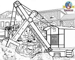 paint tank thomas colouring pages kids print colour
