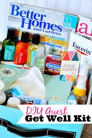 feel better care package ideas help care for your guests with this diy get well kit flu season