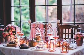 Table Setting Images by Beautiful Christmas Table Setting Free Stock Photo