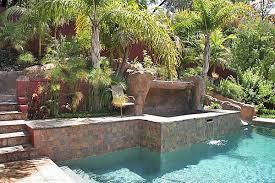 Small Backyard Above Ground Pool Ideas Triyae Com U003d Above Ground Pool On A Sloped Backyard Various