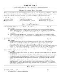 Customer Service Manager Resume Sample by Chronological Resume Sample