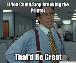 Printer Meme - image jpg