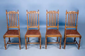 kitchen furniture sale antique chairs set of 4 antique oak barley twist dining chairs