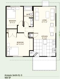 1 Bedroom 1 Bath House Floor Plans