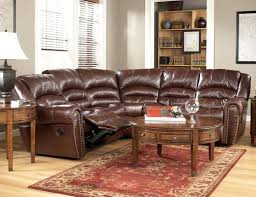 leather recliner sectional sofa homelegance 6 piece bonded leather