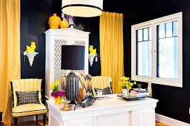 White Office Decorating Ideas 30 Black And White Home Offices That Leave You Spellbound