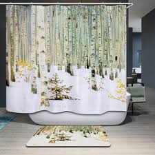 Tropical Beach Shower Curtains by Online Shop Smiry Tropical Palm Tree Beach Waterproof Polyester