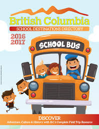 british columbia destinations directory 2016 17 by del