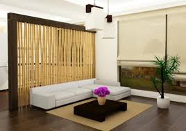 bambus design bambus sichtschutz wohnzimmer trennelement öko design möbel