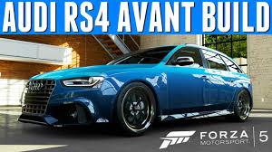 audi custom cars forza 5 custom cars 27 audi rs4 avant ft roadrunner