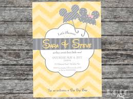 baby mickey invitations mickey and minnie disney baby shower invitation