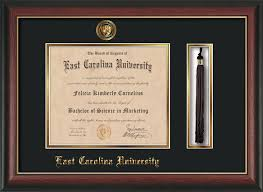 diploma frames with tassel holder ecu diploma frame gold l w tassel holder black on gold