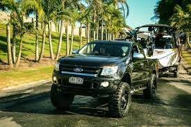 towing with ford ranger i was at a wakeboard event on the weekend and this was one of the
