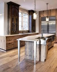 Rustic Cabinets For Kitchen Rustic Wood Kitchen Rustic Kitchen Cabinets Painted Knotty Hickory