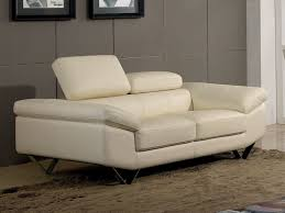 canapé cuir blanc conforama canapé cuir 2 places magnolia blanc conforama