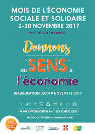 chambre r馮ionale de l 馗onomie sociale et solidaire la 5ème édition savoyarde du mois de l économie sociale et solidaire
